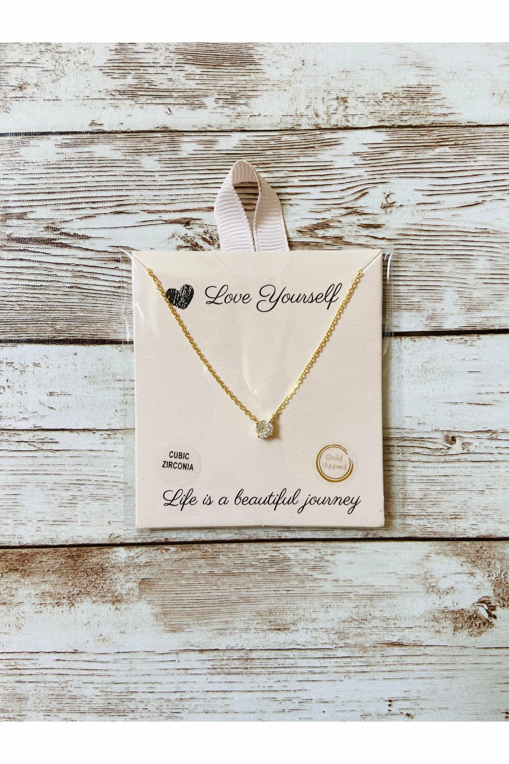 Love Yourself Necklace