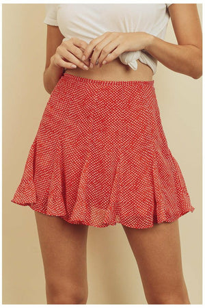 Itsy Polka Dot Skirt