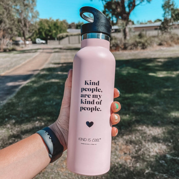 Kind people are my kind of people Drink Bottle