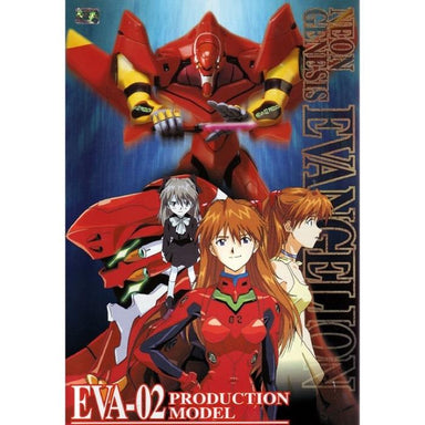 BANDAI Evangelion EVA-002 Production Model