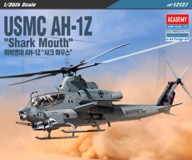 "1/35 Academy USMC AH-1Z ""Shark Mouth"""