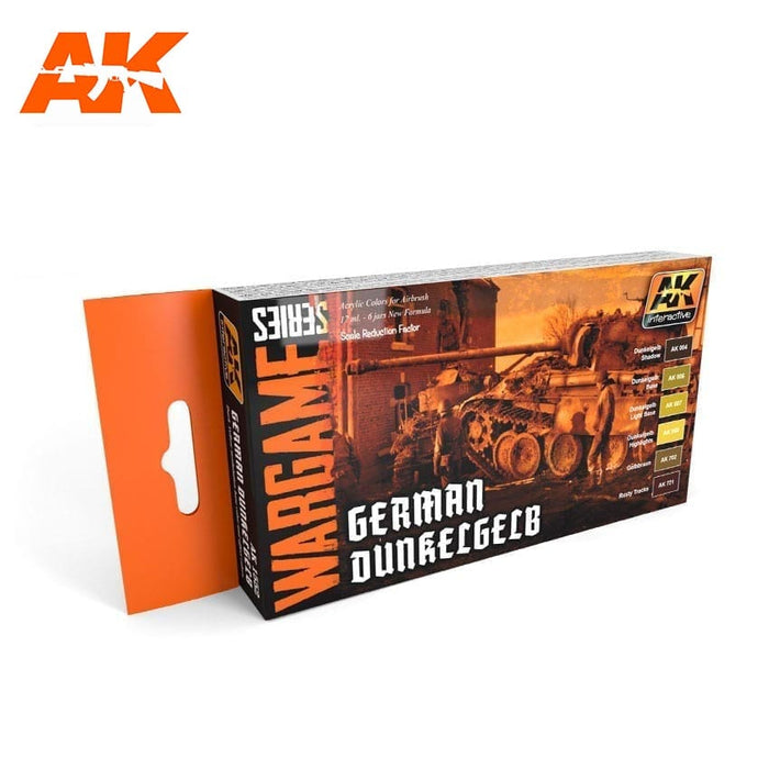 AK Interactive German Dunkelgelb Color Set