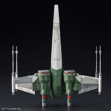 "1/72 BANDAI Star Wars  X-Wing Fighter ""Rise of Skywalker"" Version"