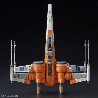 "1/72 BANDAI Star Wars Poe X-Wing Fighter ""Rise of Skywalker"" Version"