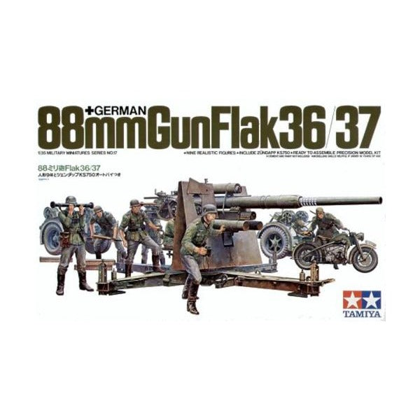 1/35 Tamiya German 88mm FLAK 36/37