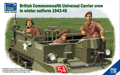 1/35 Riich British Universal Carrier Crew in Winter Uniform