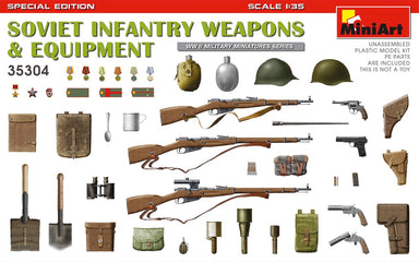 1/35 Miniart WWII Soviet Infantry Weapons and Equipment