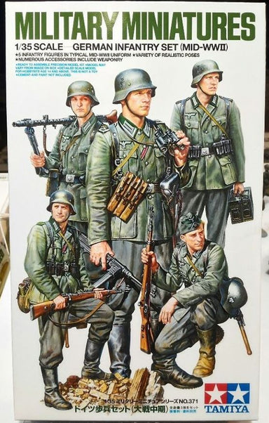 1/35 Tamiya German Infantry Set Mid WWII