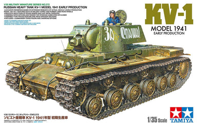 ***PREORDER 1/35 Tamiya Russian Heavy Tank KV-1 Mod. 1941 Early Production PREORDER***