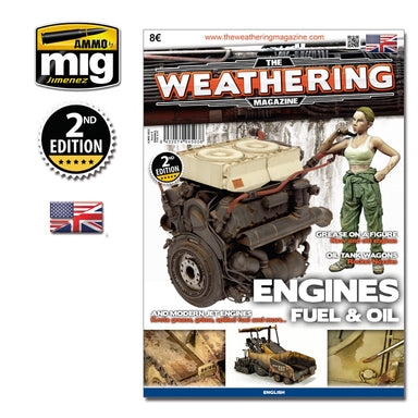 The Weathering Magazine ENGINE, GREASE AND OIL#4