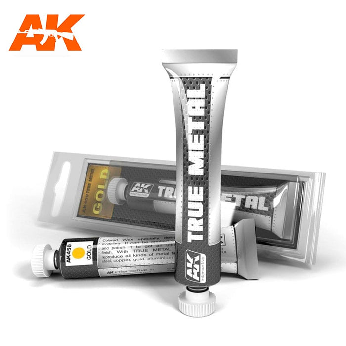 "AK Interactive True Metal ""Gold"""