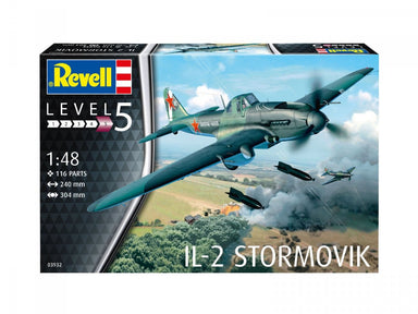 1/48 Revell IL-2 Stormovik Armoured Aircraft