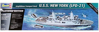 1/350 Revell U.S.S. New York (LPD-21) Platinum Edition