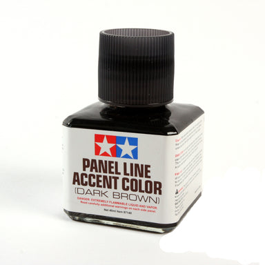 TAMIYA Panel Line Accent Color Dark Brown 40ml