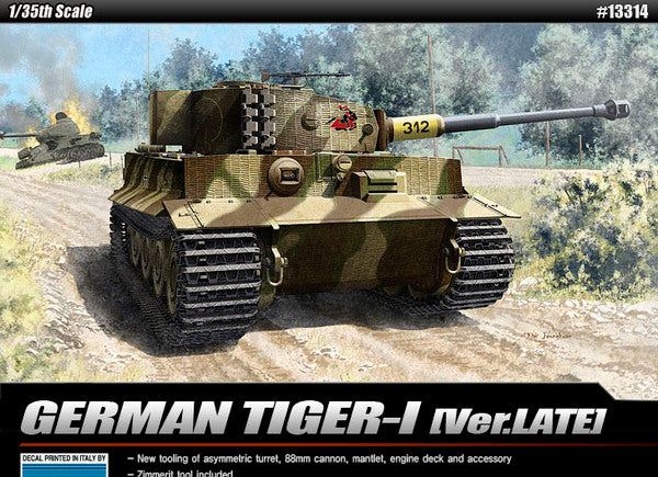 1/35 Academy Tiger I late Version