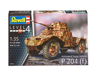 1/35 Revell Armoured Scout Vehicle P204(f) (Panhard 178)