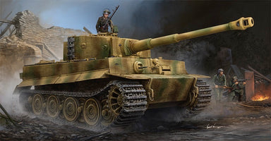 1/35 Trumpeter Tiger I Pz.Kpfw.VI Ausf.E Sd.Kfz.181 (Late Production) w/Zimmerit