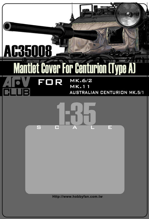 MANTLET COVER FOR CENTURION (TYPE A)