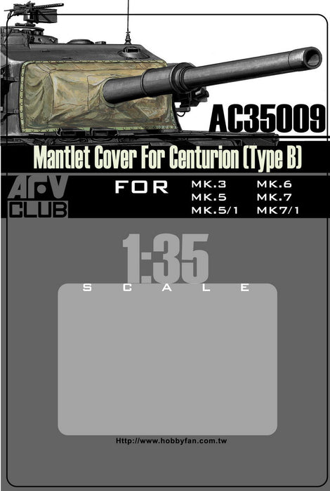MANTLET COVER FOR CENTURION (TYPE B)