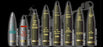 155mm HOWITZER AMMO SET (BRASS)