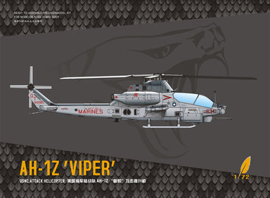 1/72 Dream Model AH-1Z 'Viper' USMC Attack Helicopter