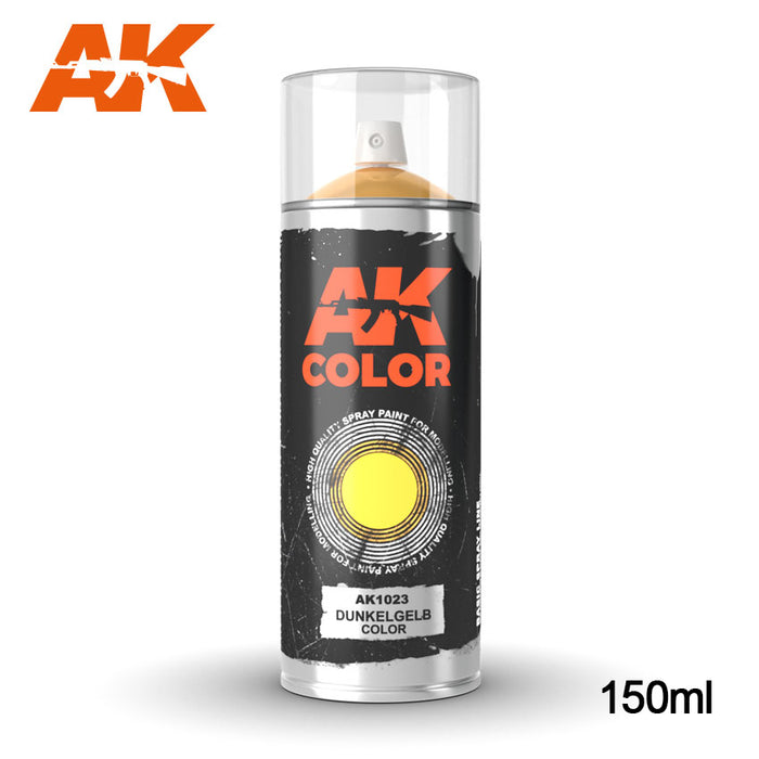 AK Interactive  DUNKELGELB SPRAY