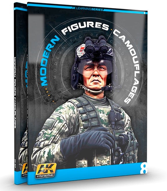AK Interactive Learning 8: Modern Figures Camouflages