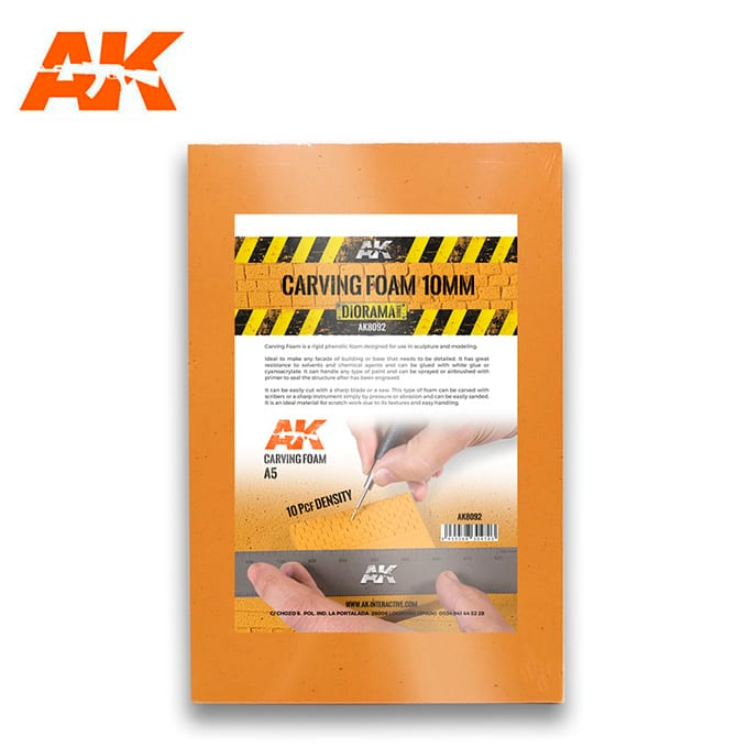 AK Interactive Carving Foam 10mm