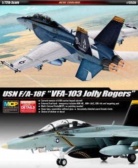 "F/A-18F ""VFA-103"" Multi Color Parts Snap Kit"