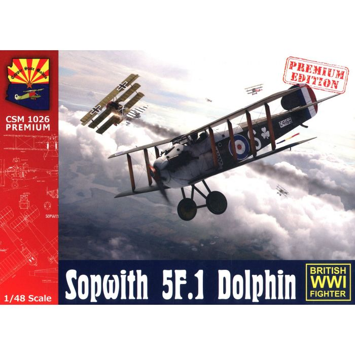 1/48 Copper State Models Sopwith 5F.1 Dolphin