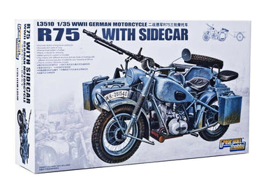 1/35 Great Wall German BMW R75 with Sidecar
