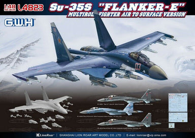 "1/48 Great Wall Sukhoi-Su35S ""Flanker E"""