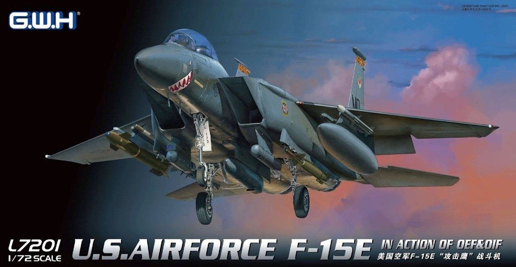1/72 Great Wall U.S. Airforce F-15E