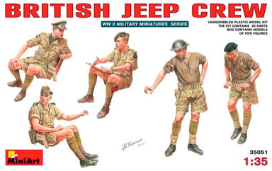 1/35 MiniArt British Jeep Crew