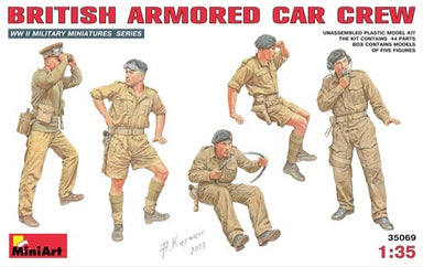 1/35 Mini Art British Armored Car Crew