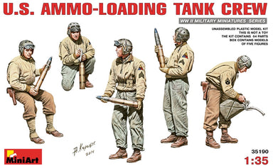 1/35 Miniart US Ammo-Loading Tank Crew