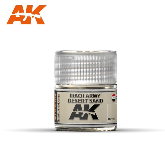 AK Interactive Real Colors : Iraqi Army Desert Sand 10ml