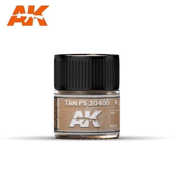 AK Interactive Real Colors : Tan FS 20400 10ml