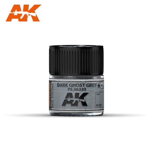 AK Interactive Real Colors : Dark Ghost Grey FS 36320 10ml