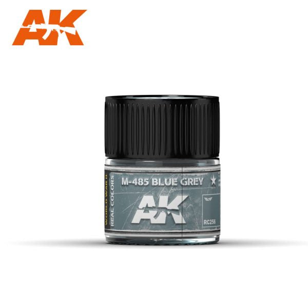 AK Interactive Real Colors : M-485 Blue Grey 10ml