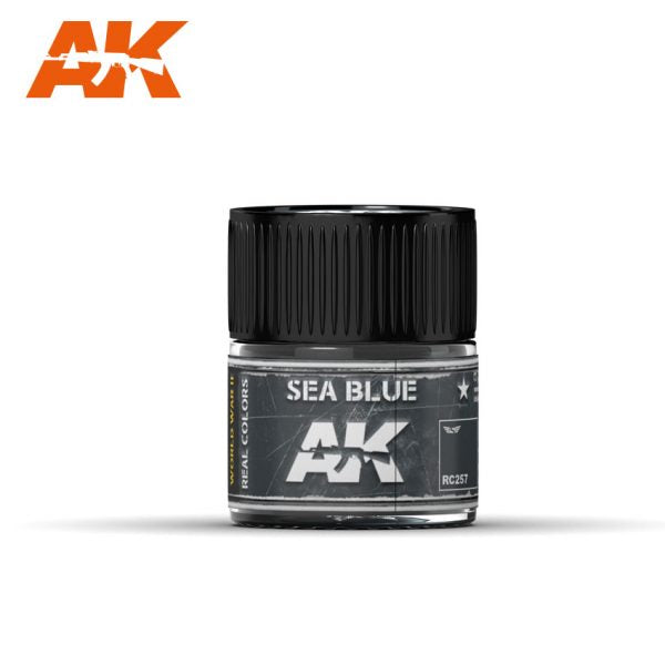 AK Interactive Real Colors : Sea Blue 10ml
