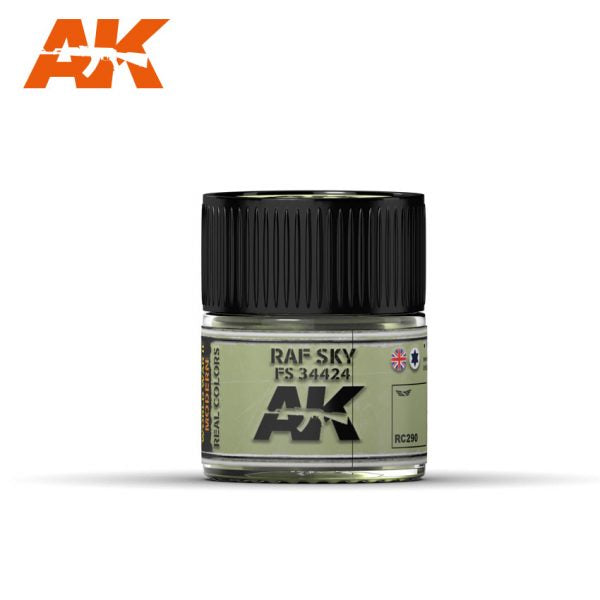 AK Interactive Real Colors : RAF SKY / FS 34424 – 10ml