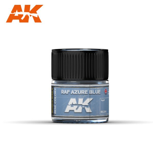 AK Interactive Real Colors : RAF Azure Blue 10ml