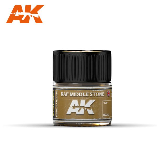 AK Interactive Real Colors : RAF Middle Stone 10ml