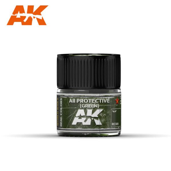AK Interactive Real Colors : AII Green 10ml