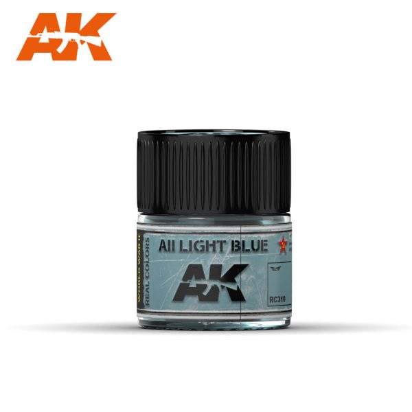AK Interactive Real Colors : AII Light Blue 10ml