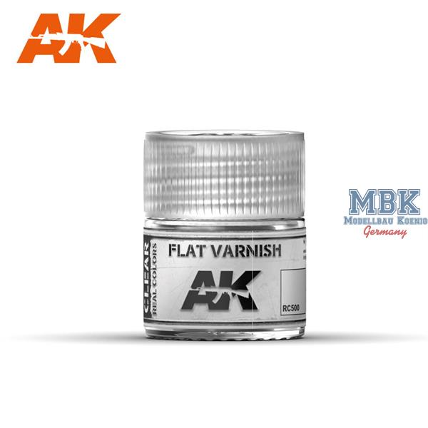 AK Interactive Real Colors: Flat Varnish 10ml