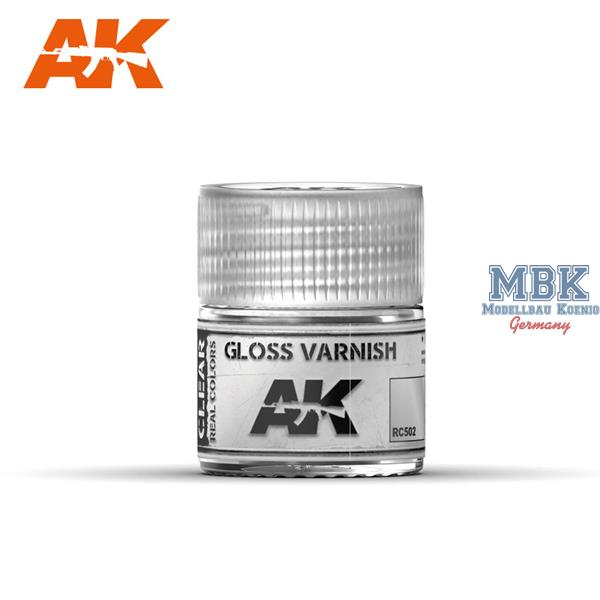 AK Interactive Real Colors : Gloss Varnish 10ml
