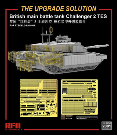 1/35 Rye Field Model Upgrade Solution for Challenger 2 TES