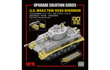 1/35 Rye Field Model Upgrade Solution for M4A3 Sherman 5028 & 5042